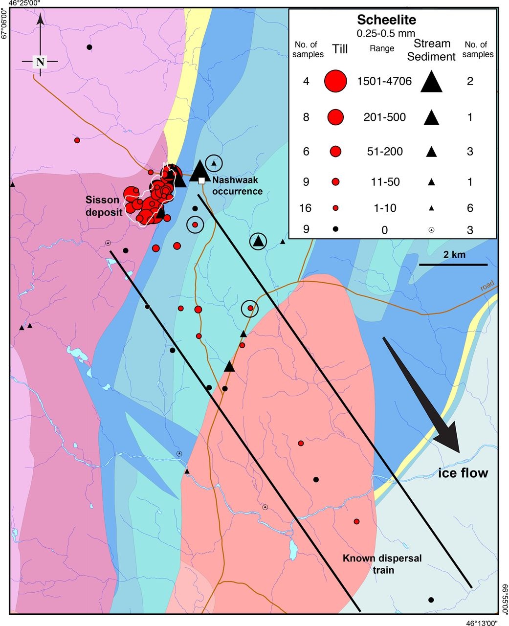 Indicator Mineral And Geochemical Signatures Associated With The