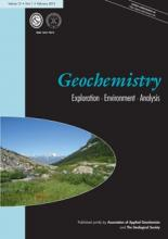 Geochemistry: Exploration, Environment, Analysis: 13 (1)