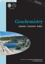 Geochemistry: Exploration, Environment, Analysis: 15 (4)
