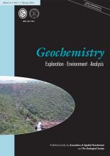 Geochemistry: Exploration, Environment, Analysis: 16 (1)
